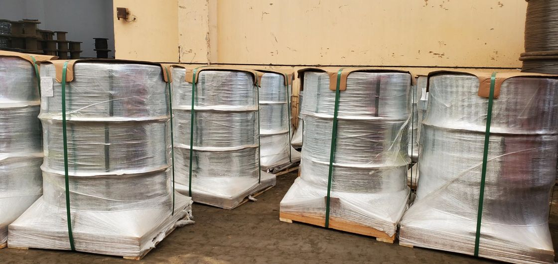 High Carbon 4.8mm Galvanized Steel Wire For Wire Rope
